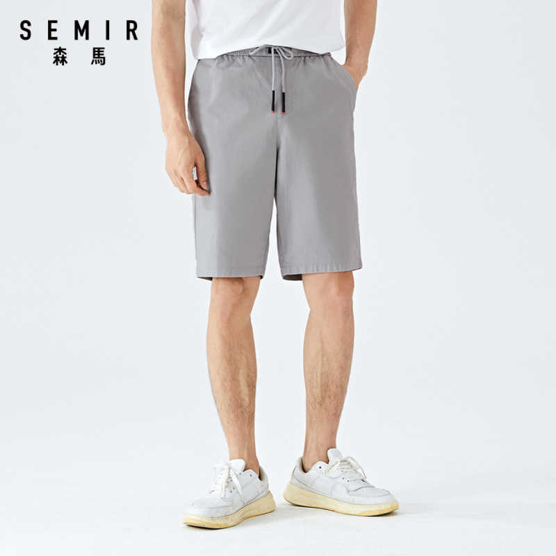 סמיר 2020 קיץ חדש מזדמן מכנסי גברים קוריאני מזדמן נוח אלסטי מותניים לנשימה חמש נקודות קצר מכנסיים לגבר