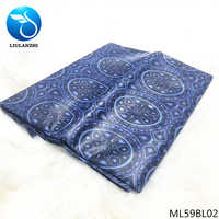 LIULANZHI brocade riche for dress cheaper 2019 lace material african bazin fabric riche getzner fabric 5 yards/lot ML59BL01-20