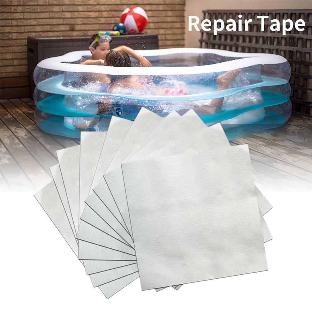 30pcs Swimming Float Repair Kit PVC Puncture Repair Patch Glue Kit Adhesive For Inflatable Toy Pools Float Air Bed Dinghies 40a