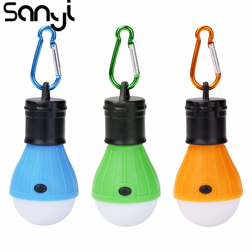 Sanyi  Hanging Portable Lantern LED Bulb Lamp Light For Camping Hiking Reading Writing Fishing
