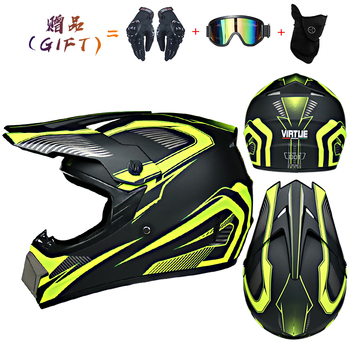 Motor Bike Cross Racing Motorcycle Helmet Safety Enduro Capacete Motorrad Cascos Downhill Bicycle Engine Cafe Racer ATV Helmets 19
