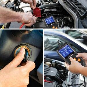 Image 5 - KONNWEI KW600 자동차 베터리 테스터, 12V 100에서 2000CCA, 배터리 툴, 자동차 고속 크랭크 충전 진단