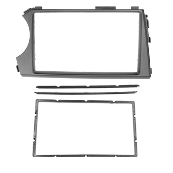 2din Radio Audio Fascia for Ssang Yong Actyon Kyron Radio GPS DVD Stereo CD Panel Dash Mount Installation Trim Kit Frame image