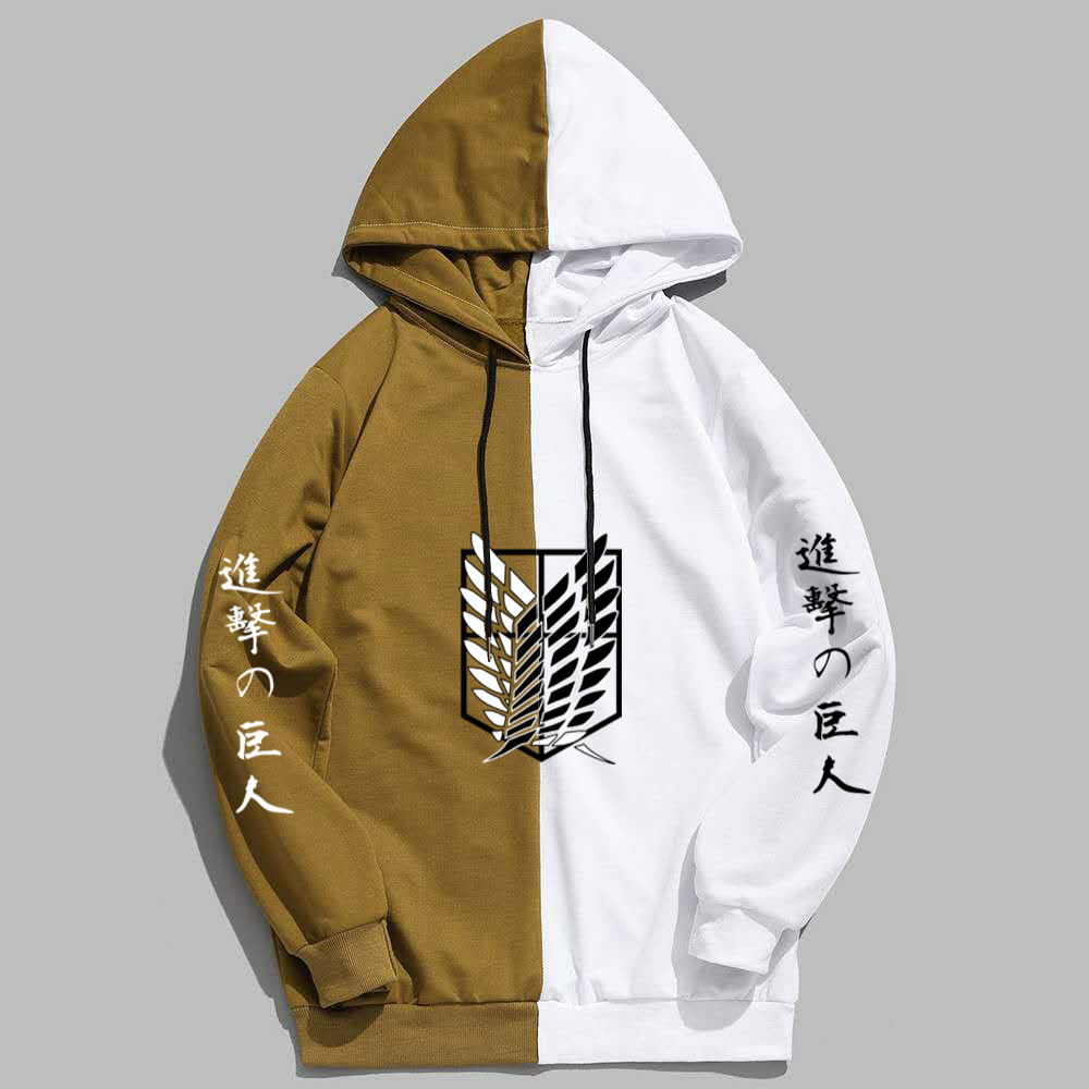 New Summer Anime Brand  Attack on Titan  Printing The Sharingan Hoodies Pullover Sweatshirt Harajuku Hip Hop Thin Clothing 2