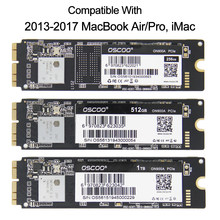 256GB 512GB SSD Para Macbook Pro Retina 2014 2015 2017 Macbook Air A1465 A1466 A1502 A1398 1TB iMac A1419 A1418 Drive de Estado Sólido