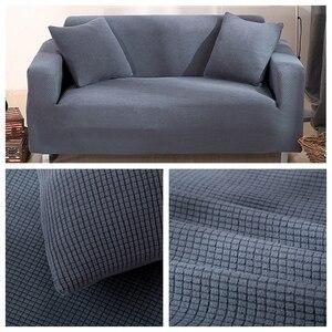Image 4 - Kadife kanepe kılıfı s oturma odası için katı kesit kanepe kılıfı elastik kanepe kılıfı ev dekor Fundas kanepe Slipover en kaliteli