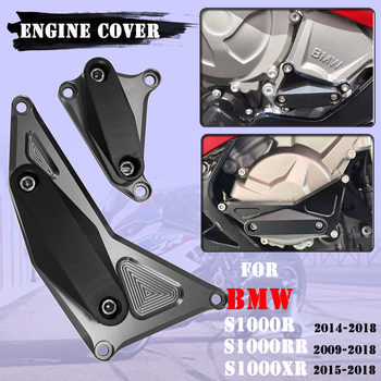 Cubierta de motor POM CNC para motocicleta, deslizadores de marco, Protector contra choques para BMW S1000RR HP4 S1000XR S1000R s 1000 rr xr r 1000 R