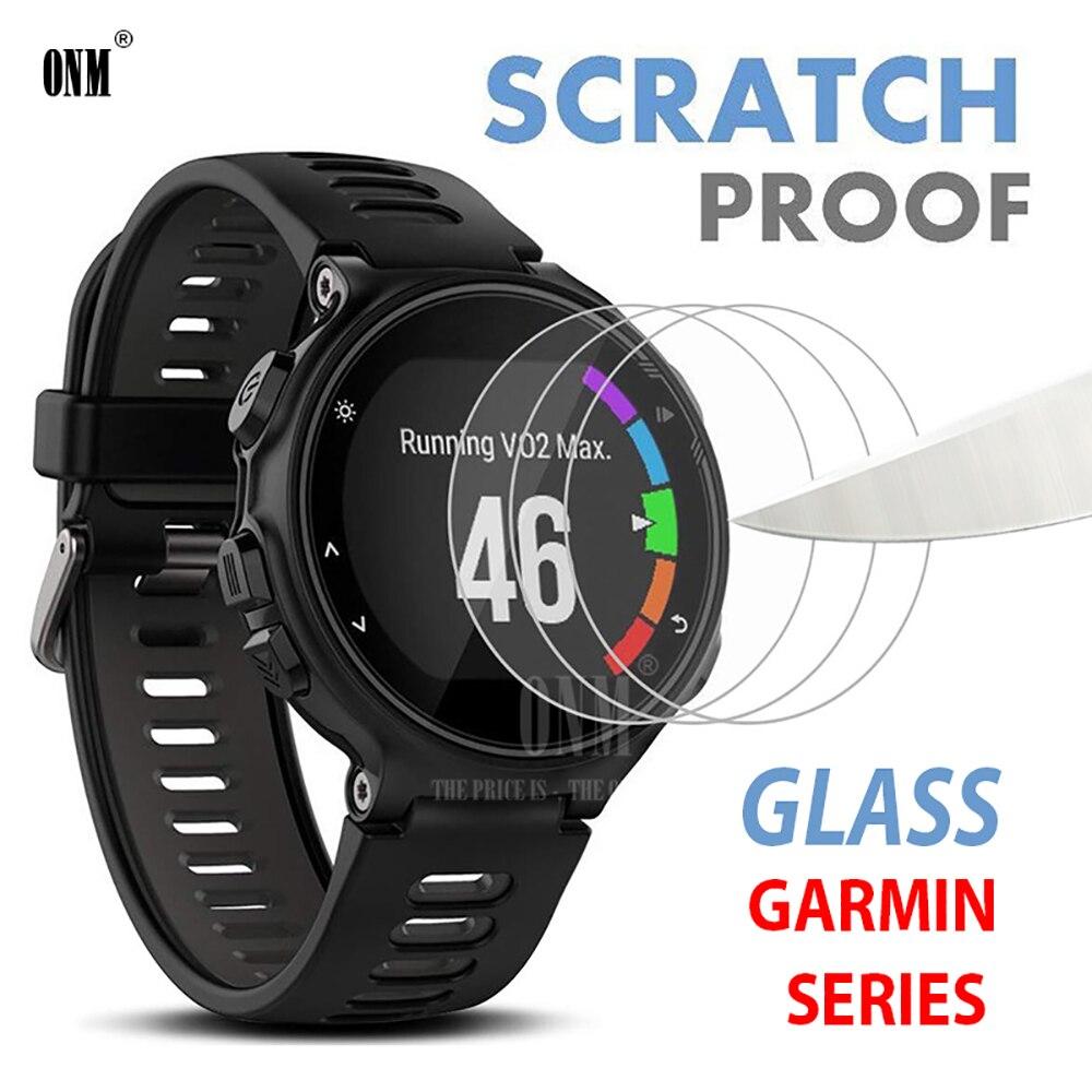 For Garmin Forerunner 235 225 230 630 245 645 Music 735XT 935 945 45 45S Tempered Glass Screen Protector Smart Watch Accessories