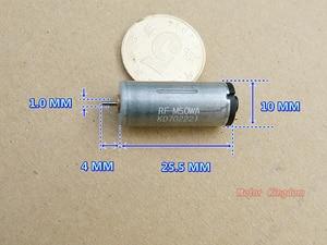 Mabuchi RF-M50WA DC 3V ~ 4,5 V 31000RPM высокоскоростной мини 10 мм круглый двигатель цилиндра 1 мм вал DIY вентилятор игрушка модель