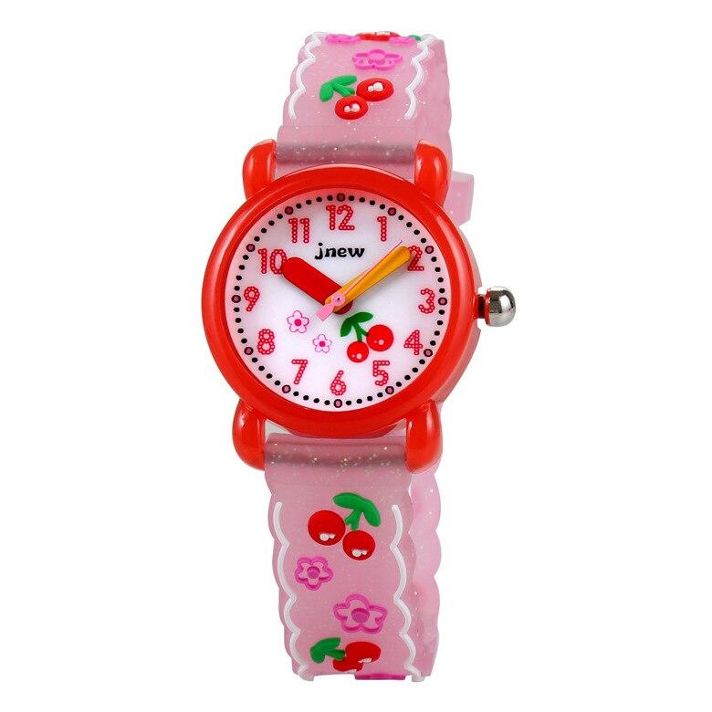 Children's Cartoon Watch Waterproof Quartz Silicone Watch Girls Boys Kids Watches 3D Silicone Children's Watches Fashion &Casual