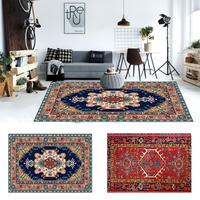 Persian Style Large Area Rug High Quality Abstract Flower Art Carpets For Living Room Bedroom Anti Slip Floor Mat Kitchen Tapete