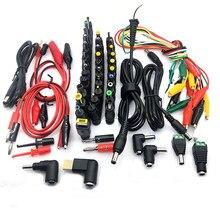 34 pcs universal portátil dc fonte de alimentação adaptador conector plug ac dc cabeça de conversão jack carregador conectores portátil adaptador de energia