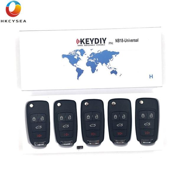 HKCYSEA llave remota Universal multifuncional para Mini programador de llaves KD KD900 URG200 KD200 KD X2, 5/10/15 unids/lote, KEYDIY NB18