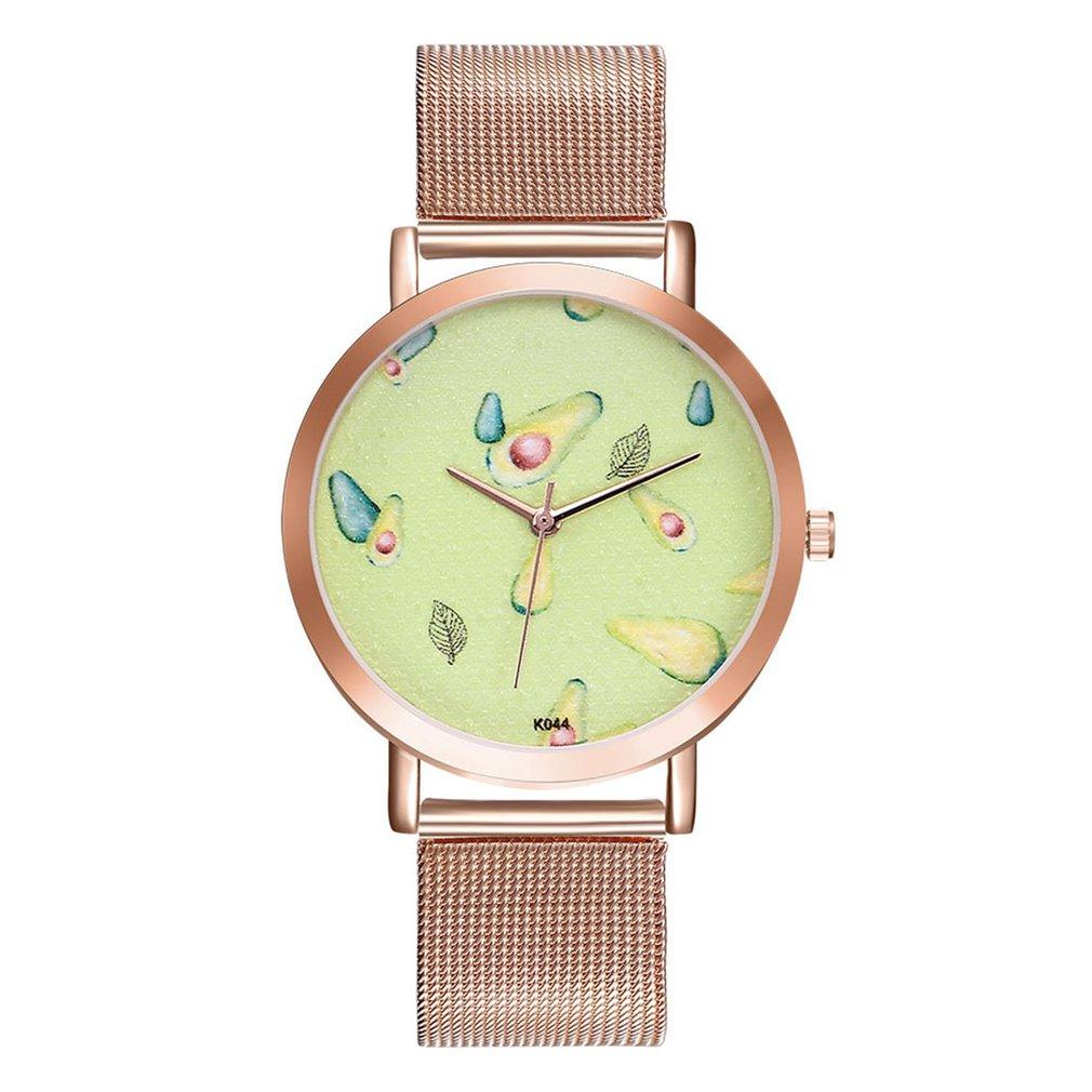 Quartz Watch Steel Steel Strip Round Dial Wristwatches Women Bracelet Dress Watch Montre Femme 2018 Cheap Classic Big Dia