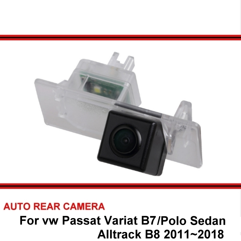 Fisheye SONY For Vw Passat Variat B7 Alltrack B8 Polo Sedan 2011~2018 Car Reverse Backup Rearview Parking Rear View Camera CCD