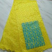10 цветов, французский швейцарский тюль, гипюр, кружевная ткань, африканская нигерийская кружевная ткань с цветочным узором для свадебных вечерних платьев