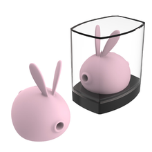 Rabbit vibrates, sucks and sucks the bouncing egg, adult interest, female product, a hair substitute