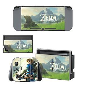 Image 4 - The Legend of Zelda Nintendoswitch Skin Nintendo Switch Sticker Decal per Nintendo Switch Console Joy con Controller Skin Sticker