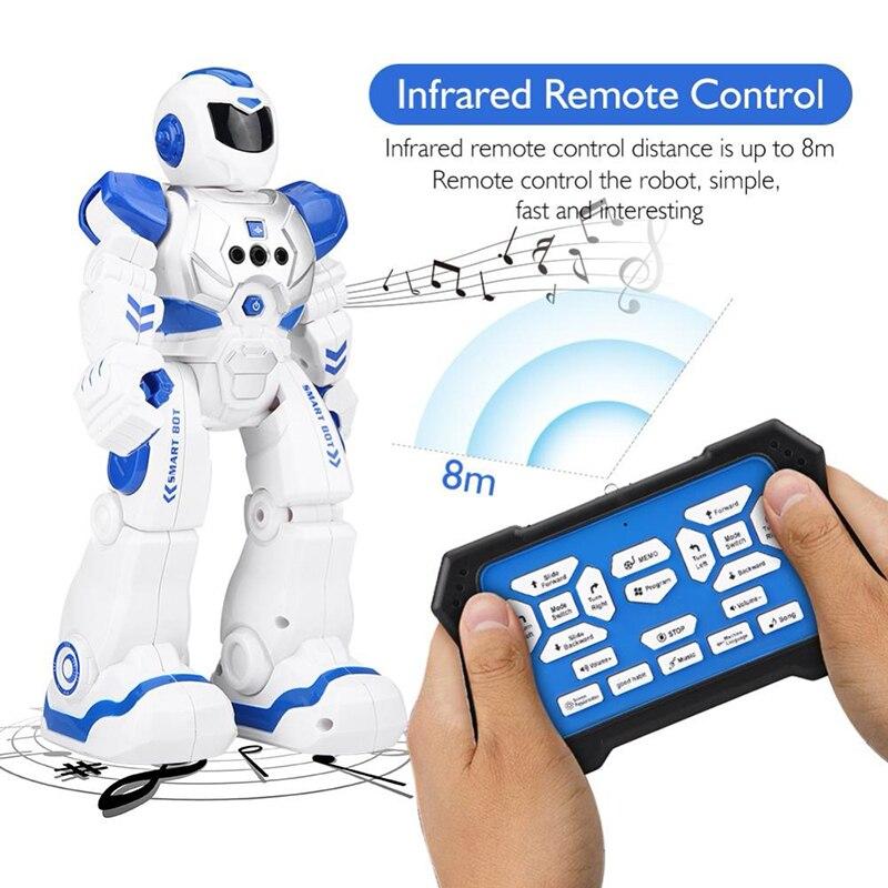 RC умный датчик жестов танцующий робот программируемый inteligente Электрический Поющий пульт дистанционного управления образовательный гумано...