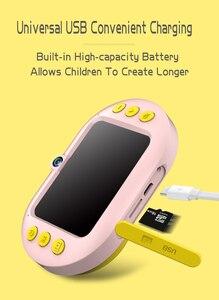 Image 4 - 2.4 אינץ ילדי דיגיטלי מצלמה HD 1080p wifi Dual עדשת Ip68 עמיד למים ילדי מצלמה מתנת יום הולדת מגניב לילדים