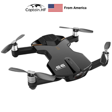 US Captain S6 UAV mini Remote Control, Folding Drone Four Axis Aircraft 4K High Definition Aerial Camera UAV wingsland s6 folding pocket drone 4k aerial photography