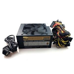 Image 1 - ATX PSU 1800 واط وحدات امدادات الطاقة ل Eth تلاعب Ethereum عملة التعدين منجم 180 240 فولت psu جهاز تعدين 24P للكمبيوتر الخ ZEC ZCASH
