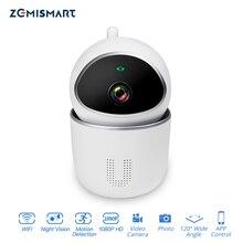 Câmera de segurança sem fio tuya 1080p, alarme de segurança para casa inteligente