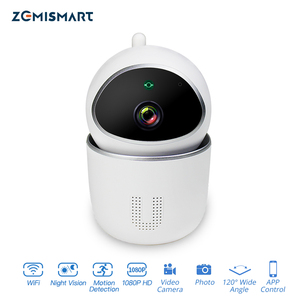 Image 1 - Tuya WiFi écho spectacle CCTV caméra 1080P Intercome Standard alarme de sécurité à domicile intelligente