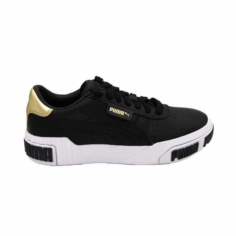 Corchete Abreviatura global  Zapatillas PUMA CALI BOLD metálicas WNS negro dorado blanco 371207 02 (37,5  negro)|Accesorios de zapatillas| - AliExpress