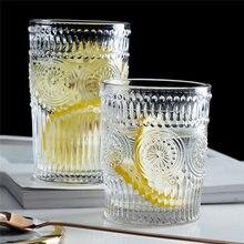 Тисненая чашка для завтрака с солнечным цветком винтажная Европейская