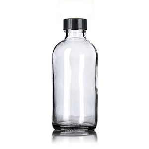 Image 4 - 4pcs 250ml Clear Glass Bottle with Stainless Steel Lotion Pump Dispenser for Liquid Soap Shampoo Alcohol Gel Hand Sanitizer 8 oz