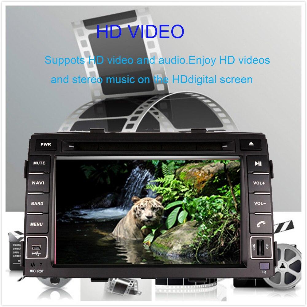 4G android 9,0 автомобильный dvd для kia sorento 2010 2012 в dash автомобильный стерео gps головное устройство магнитофон автомобильный мультимедийный плеер - 3
