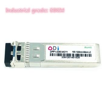 SFP 10G LC 60KM dual fiber 1310nm sfp+ 60KM cisco compatible Industrial grade SFP+ Transceiver Industrial grade -40-85 Celsius