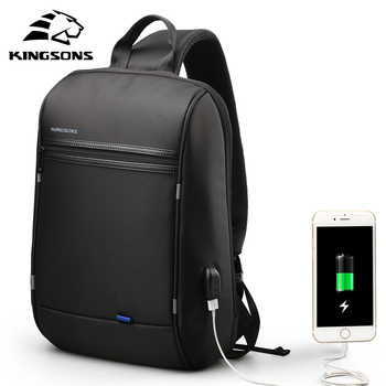 Kingsons 13.3 inch High Quality Chest Backpack For Men Female Casual Crossbody School Bag Casual Style Travel Business Backpack - DISCOUNT ITEM  50% OFF All Category