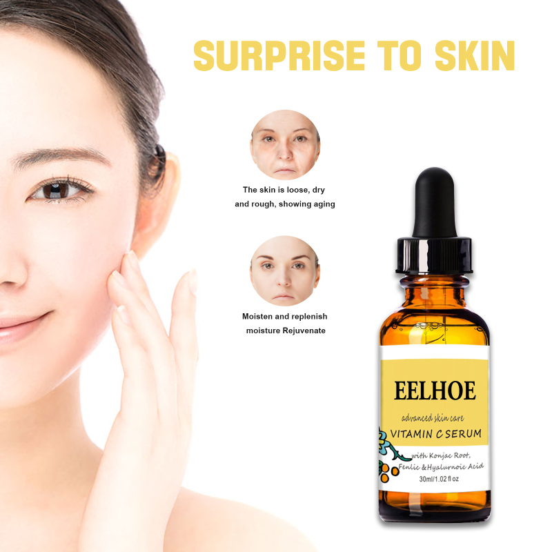 30ml Vitamin C Facial Serum Liquid Anti-aging Pore Shrinking Whitening Moisturizing Serum Antioxidant Serum Skin Care Tslm1 Exquisite Craftsmanship;