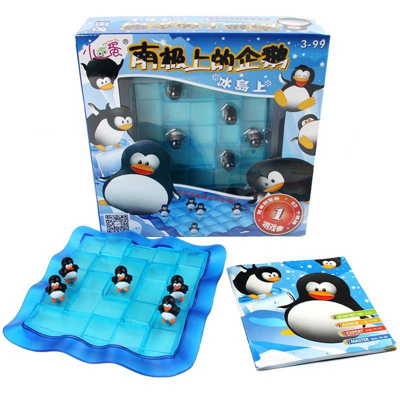 Pinguim armadilha jogo de tabuleiro pai-criança brinquedos de mesa de entretenimento interativo iq jogo de alívio de estresse crianças brinquedo jogo de mesa