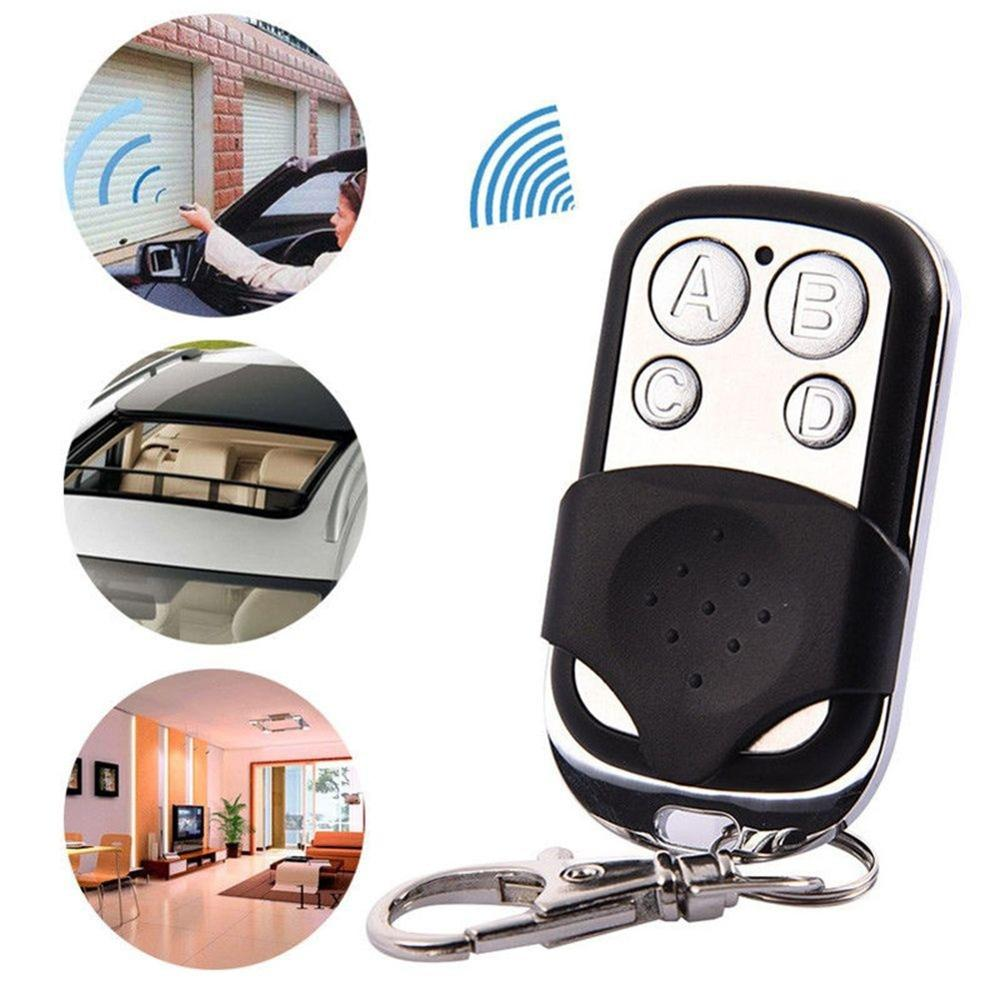 Wireless RF Remote Control 433 MHz Electric Gate Garage Door Remote Control Key Fob Controller