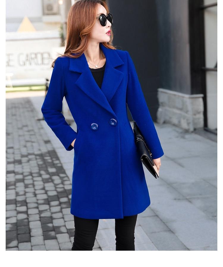 YICIYA Winter autumn Coat Women Wool Jacket Long Oversized Coats Plus Size Large Black Blend Woolen Warm Outerwear 2019 Clothing 37