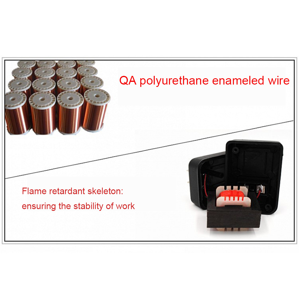 AC 220V to 110V//110V to 220V AC Power Voltage Converter 20W Adapter