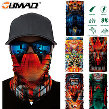 3D Seamless Magic Neck Gaiter Face Mask Cover Shield Outdoor Cycling Hiking Biker Fishing Tube Bandana Balaclava Scarf Men Women(China)