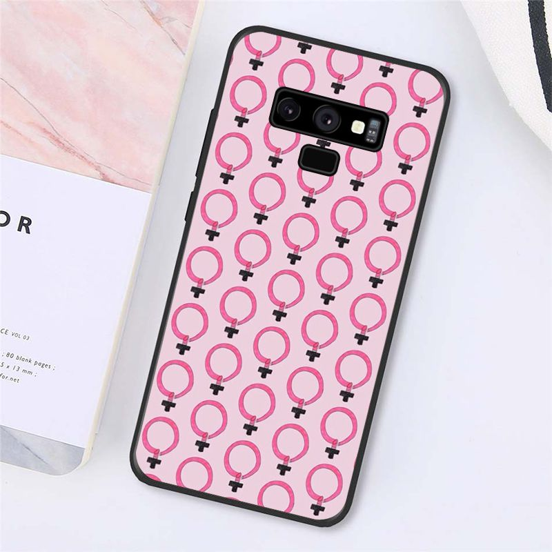 Aesthetics Minimal Girl Power Feminist Phone Case For Samsung Galaxy A50 A70 A20 A30 Note9 8 Note7 Note10 Pro