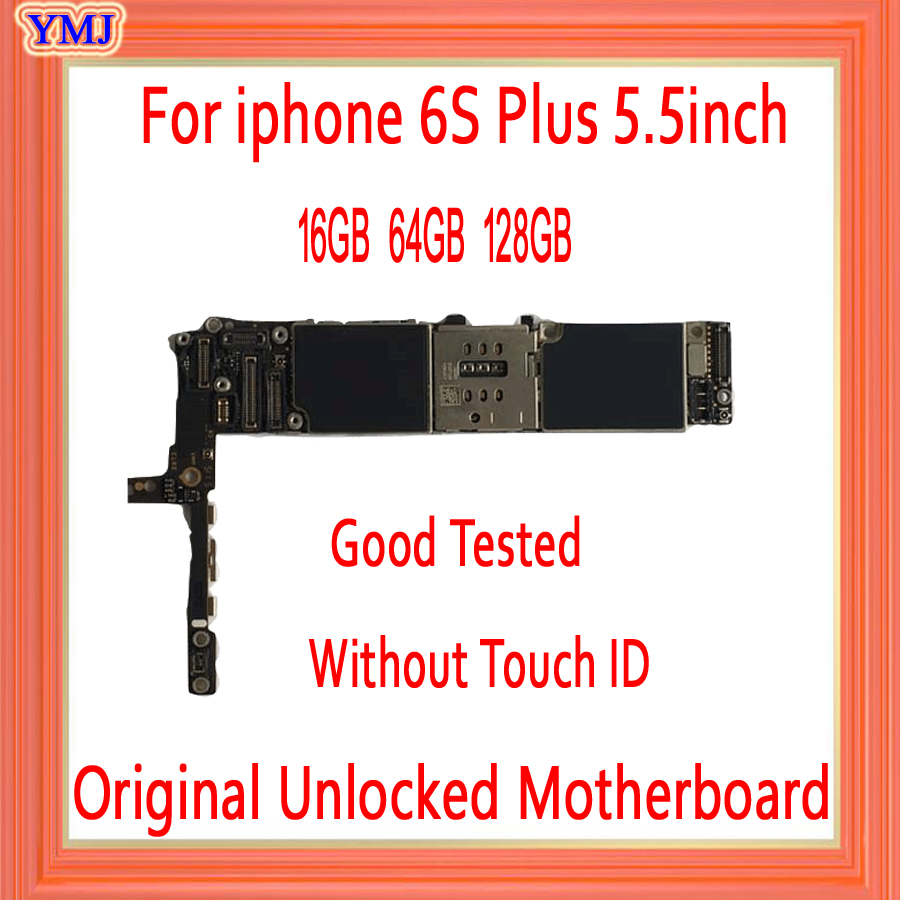16gb /64gb /128gb for <font><b>iphone</b></font> <font><b>6s</b></font> Plus Motherboard <font><b>with</b></font>/without <font><b>Touch</b></font> <font><b>ID</b></font> Original unlocked for <font><b>iphone</b></font> <font><b>6s</b></font> plus <font><b>Logic</b></font> <font><b>Boards</b></font> image
