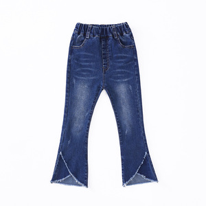 Image 5 - 2020 autumn childrens clothes girls jeans casual slim thin denim baby girl jeans for girls big kids jeans long trousers