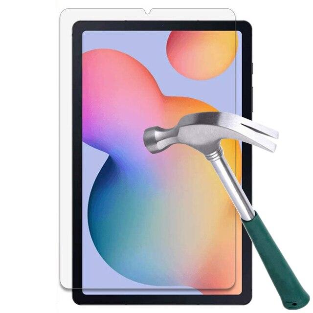 Protecteur Décran En Verre trempé pour Samsung Galaxy Tab A 10.1 2019 T510 S7 11 2020 8.0 2018 S5E 10.5 S6 Lite 10.4 P610 T590 T720