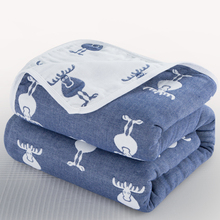 150*120cm Baby Blankets 6 Layers 100% Cotton Large Size Baby Stuff for Newborns Soft and Durable Bath Towel Bed Sheet Kids Quilt
