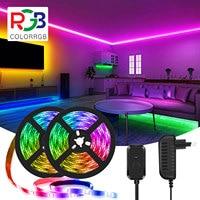 LED Streifen licht, Musik Sync, Musik Sync Farbwechsel LED Licht Streifen, SMD5050 RGB LED Licht Streifen DIY
