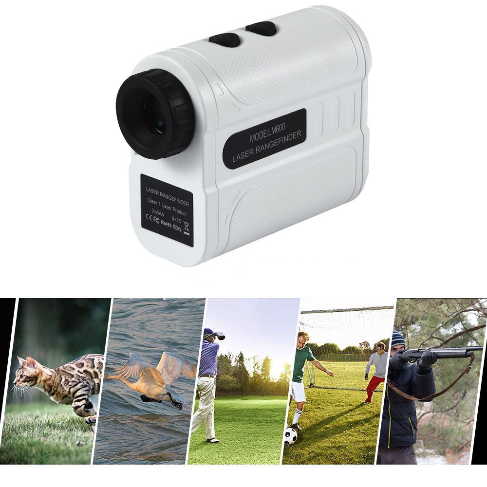 Hand-Held Golf Telescope Multipurpose Range Accurate Adjustable Diopter Finder Laser Magnification Distance Measure Rangefinder