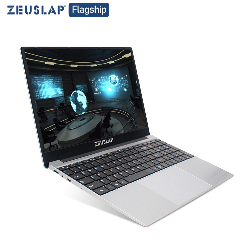 15.6 inch CPU Intel i5 8G RAM 64GB to 1000GB <font><b>SSD</b></font> 1920X1080P Ultrabook Win10 <font><b>Notebook</b></font> Computer laptop image
