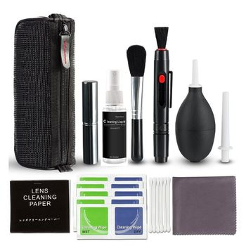 DSLR Camera Cleaning Kit Profession Digital Camera Cleaning Kit Lens Cleaning Tool with Carrying Case