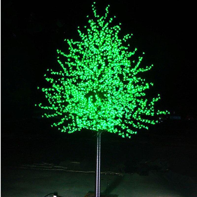 LED Cherry Blossom Tree Wedding Garden Holiday Light Square Decor Outdoor Indoor Led Tree Lights Waterproof Christmas Tree Light
